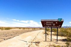 Traveling on Route 66.