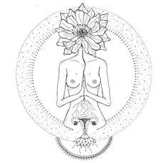 « ::: Daughter of Pachamama ::: Éphémères Vintage, Symbole Tattoo, Inspiration Artistique, Frida Art, Psy Art, Illustration Art, Illustrations, Sacred Feminine, Art Inspo