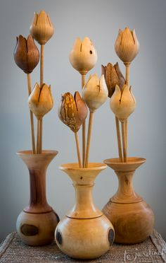 Heirloom Bouquets handcrafted from from salvaged wood