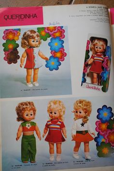 Boneca Queridinha 1973