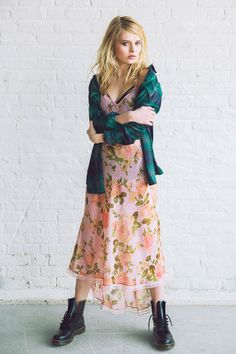 Silky, breezy maxi dress from fun-loving designer Betsey Johnson, just for UO #UOxBetsey