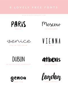 Fonts inspiration -