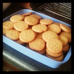 Cookies are all done ^_^ Whoop!