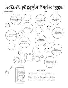 IB Learner Profile Reflection                              …