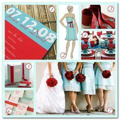 Lovely colors for a summer wedding. Visit http://www.pinterest.com/debeloh for more!