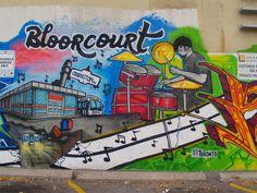 Bloorcourt Toronto Neighbourhoods, Small Condo, Fruit In Season, West End, Good Music, The Neighbourhood, Murals, Artists, The Neighborhood