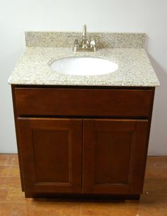 Cherry Shaker Bathroom Vanity  Balfour Remodel  Pinterest Mesmerizing Cherry Bathroom Vanity Inspiration