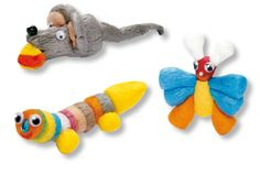 la chenille le papillon et la souris en flocons de maïs