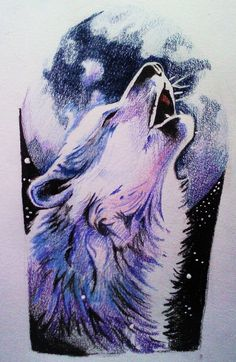 Howling Wolf Tattoo | Howling wolf by phantomphreaq on deviantART