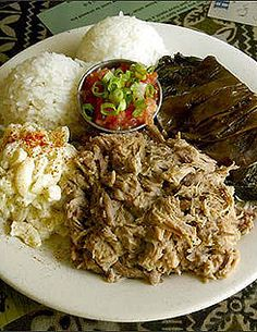 Hula in Aloha: Kalua Pork and Lau Lau...Hawaiian Food