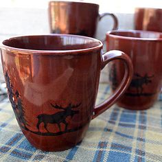 Thank you. You will receive a $1 off coupon during checkout. Majestic Moose Coffee Mug Set