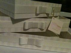 conunto de caixas toilette