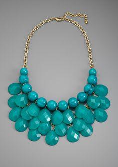 LOLA Multi-Stone Bib Necklace