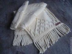 Как связать бахрому для шарфа. Очень полезный мастер-класс