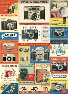 """""""Vintage Camera"""" for table """"Life through a lens"""""""