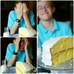 Half birthday, Birthday Cake