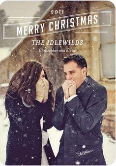 Love this photo Christmas card idea.