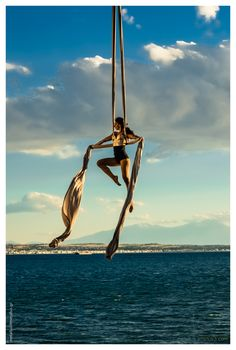 """Fly Away series"" Aerial Dance, Thessaloniki, Greece 2013"