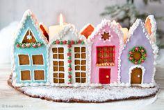 Gingerbread, Baking, Desserts, Christmas, Diy, Cakes, Food, Boy Doll, Feltro