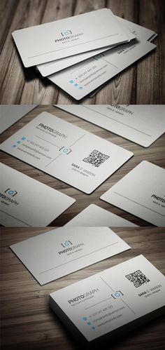 Photography Business Card #businesscards #businesscardtemplates #custombusinesscards
