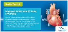 Today's HealthTip! Prevent Heart Diseases by managing your Heart's risk factors.  Insight Health offers a personalised health check at any one of our partner centres across India or at a centre of your own choice. And the results will be reviewed by our internationally qualified specialist team and they prepare of a detailed summary with recommendations and advice.  This program has been specially designed for NRI's and their parents in India…