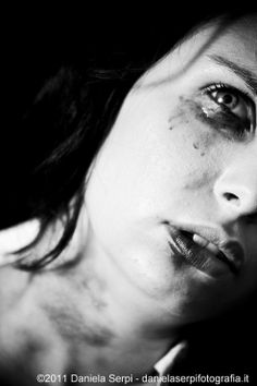 Stop the violence against women by Daniela Serpi, via Behance