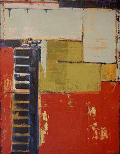 "Saatchi Art Artist Sidonie Caron; Painting, ""Urban Pioneer"" #art"