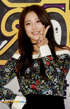 Nam Ji Hyun at the Never Die press conference