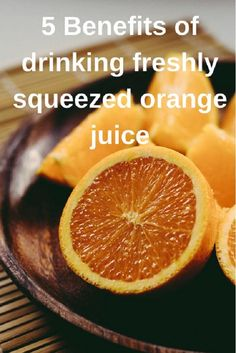 Check Out The 5 Benefits Of Drinking Freshly Squeezed Orange Juice To Kick Start Your Healthy Living Plan. Essential Oil Safety, Citrus Essential Oil, Essential Oils, Orange Juice Benefits, Freshly Squeezed Orange Juice, Tension Headache, Natural Detox, Nutrition Plans, Nutrition Guide