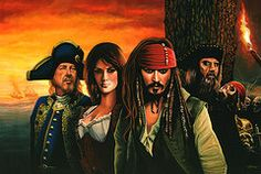 Pirate Art - Pirates of the Caribbean   by Paul Meijering