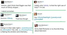 He didn't know Diggle shipped Olicity? Really?