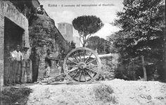 Roma sparita-er cannone der Gianicolo