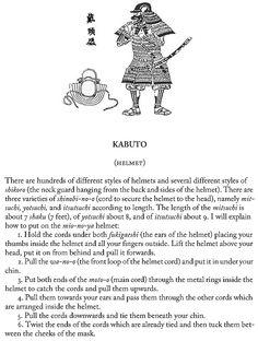Kabuto (helmet), page 28.