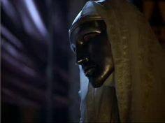 """El rey Balduino de Jerusalén (Edward Norton), de """"El Reino de los Cielos"""""""