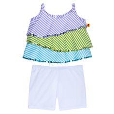Lavender Ruffle Shirt & Leggings Outfit 2 pc. - Build-A-Bear Workshop US