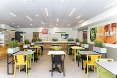עיצוב קפיטריה באוניברסיטת תל אביב מעצבת פנים דנה שקד  dana shaked Interior designer cafeteria Design at Tel Aviv University