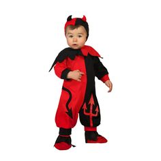 Disfraz de Diablo Bebé #disfraces #halloween