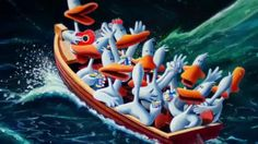 "Michael Bedard - Fragility and Humor. The ""Sitting Ducks"" Series 1280x720-7CD.jpg (1280×720)"