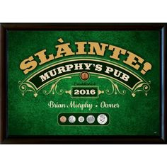 Winston Porter Personalized Year to Remember Coin Irish Pub Sign Wall Décor Starburst Wall Decor, Fish Wall Decor, Medallion Wall Decor, Tree Wall Decor, Irish Pub Interior, Irish Pub Decor, Whiskey Room, Home Wet Bar, Irish Bar