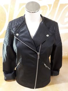 Leather Jacket, Hoodies, T Shirt, Jackets, Collection, Women, Fashion, Woman, Studded Leather Jacket