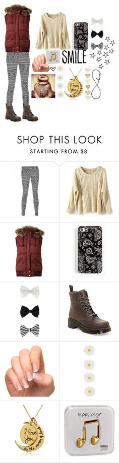 """""""Smile...It's Contagious :)"""" by jamwich ❤ liked on Polyvore featuring Blue Inc Woman, Accessorize, Dr. Martens, Monsoon, Happy Plugs, women's clothing, women, female, woman and misses"""