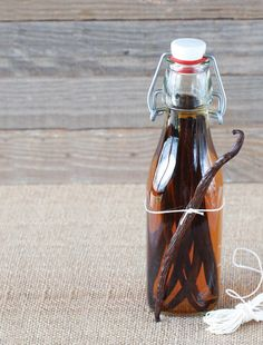 Making your own vanilla essence or extract with vanilla beans and vodka is so easy with this simple recipe.