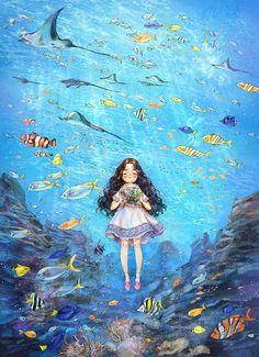 Dessin My Little Pony, Forest Girl, Korean Art, Cute Illustration, Anime Art Girl, Anime Girls, Cartoon Art, Cute Drawings, Cute Art
