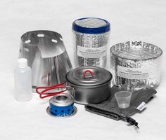 Caldera Kitchen with Evernew .6 L Ultralight Titanium Pot (ECA261)