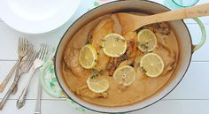 Creamy Dutch Oven Chicken recipe - yummy!