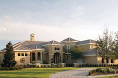 Luxury Mediterranean Home - plan #047D-0212 | houseplansandmore.com