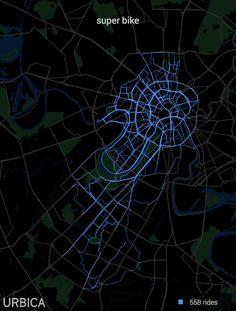 Bicycle stats data visualisation