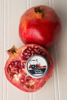 Ruby Pomegranate Lip Balm Tin