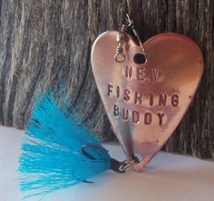 New Dad Gift New Fishing Buddy Daddy's Boy by CandTCustomLures