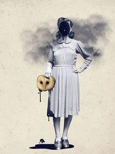 Julia Geiser, la Dexter del collage